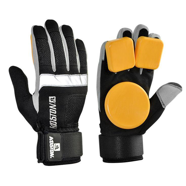 Skateboard Longboard Slide Gloves With POM Slider Professional Protective Gloves For Skating AC631