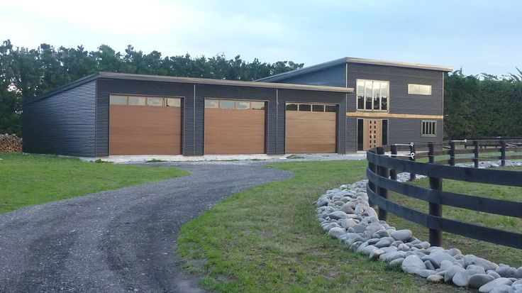Metal building homes garage and shed midcentury with for 12 x 8 garage door price
