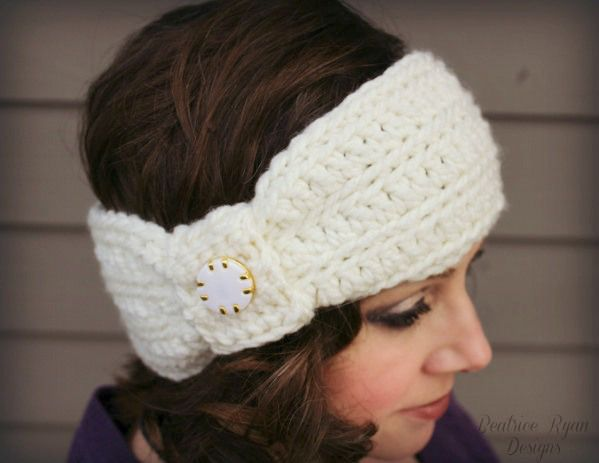 Wintertide-Headband-Free Pattern Crochet Hats/Headbands ...