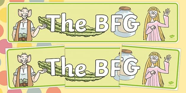 The BFG - Roald Dahl Primary Resources - KS2 Story Books
