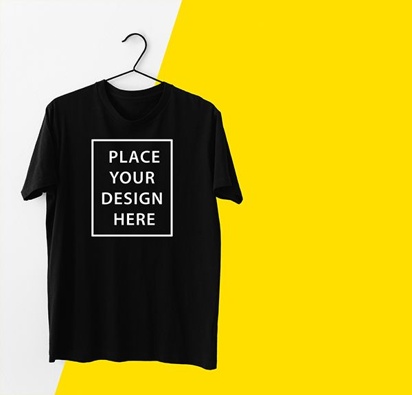 Download T Shirt With Hanger Free Psd Mockup Shirt Mockup Mockup Free Psd Tshirt Mockup