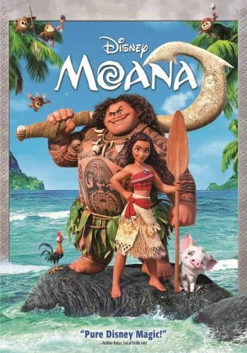 Moana for Rent, & Other New Releases on DVD at Redbox