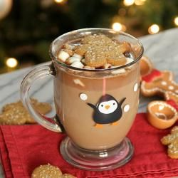 Zencefilli Sıcak Çikolata