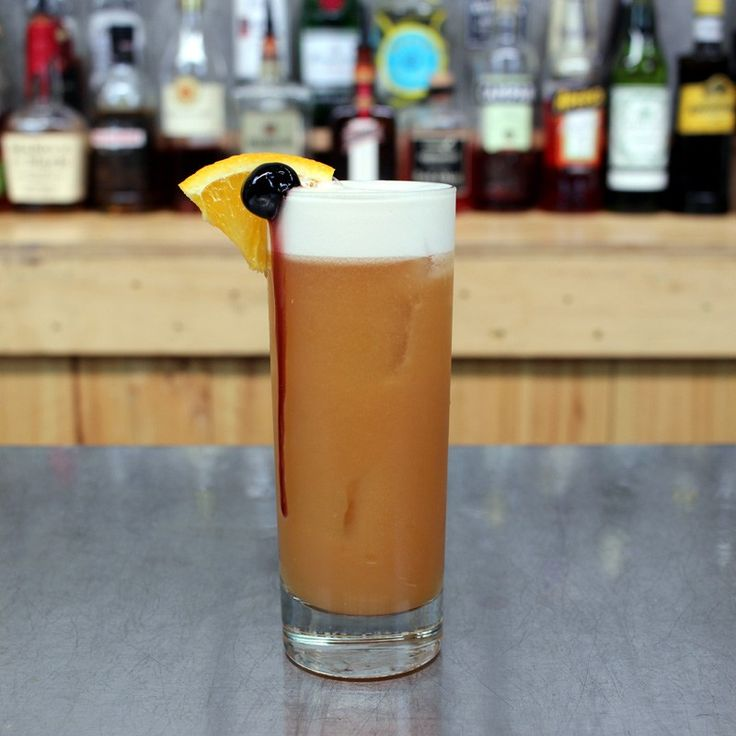 Rum Runner Cocktail Recipe. Check out the rum recipe on the blog!