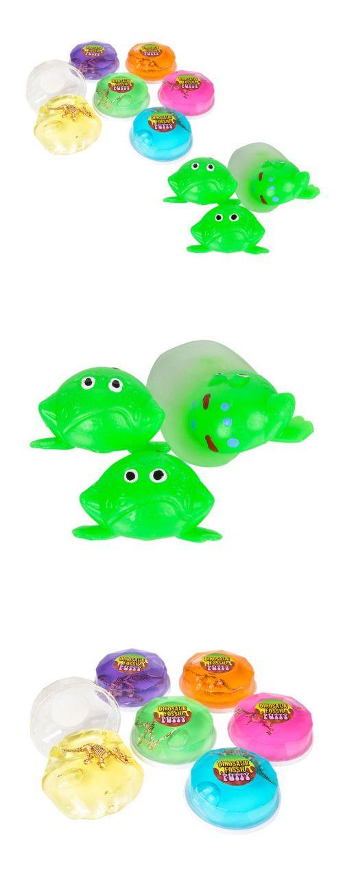 Slinky 19026: Mozlly Splat Frogs 12 Piece Set And Dinosaur Fossils In Putty Toy 12Pc Set Bulk -> BUY IT NOW ONLY: $33.99 on eBay!
