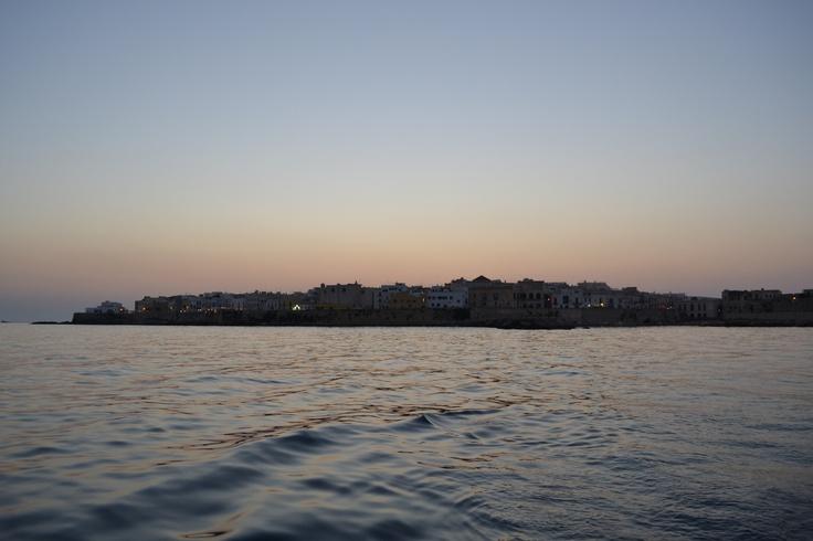 Gallipoli vista da lontano, 10 luglio 2012