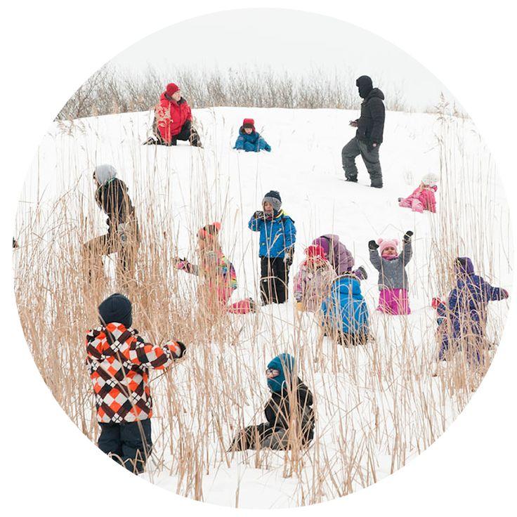 Outdoor Forest School for preschool children in Winnipeg, Manitoba!