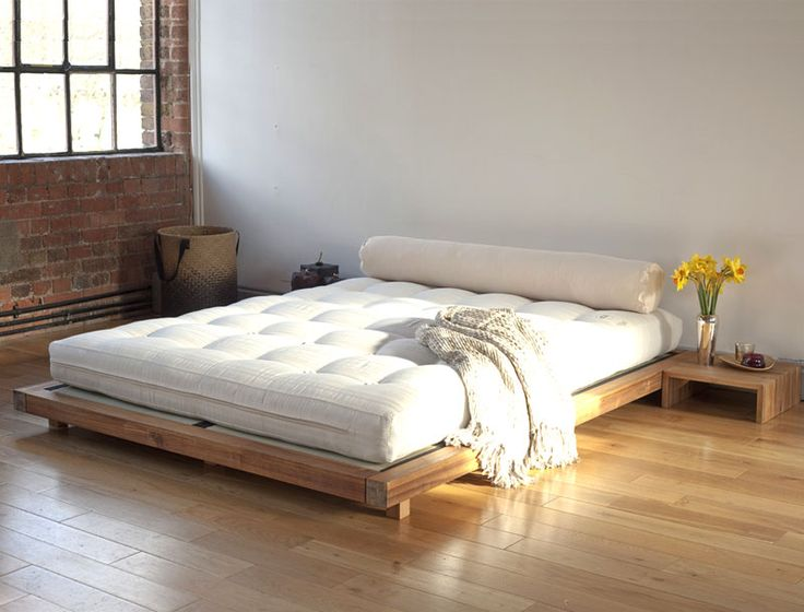 Best 25 low platform bed ideas on pinterest low bed frame low beds and platform beds Beautiful bedroom chairs that make it a joy getting out of bed