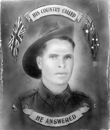 Aboriginal Australians were present in almost every Australian campaign of World War I. Some might find it strange that Aborigines and Torres Strait Islanders wanted to serve a country that did not recognise them as citizens (until 1967….) Reasons for enlistment were many: some hoped that war service might help the Indigenous campaign for citizenship and equality; some believed the war was just; others sought adventure, good pay, or joined up because mates did. Portrait of indigenous soldier