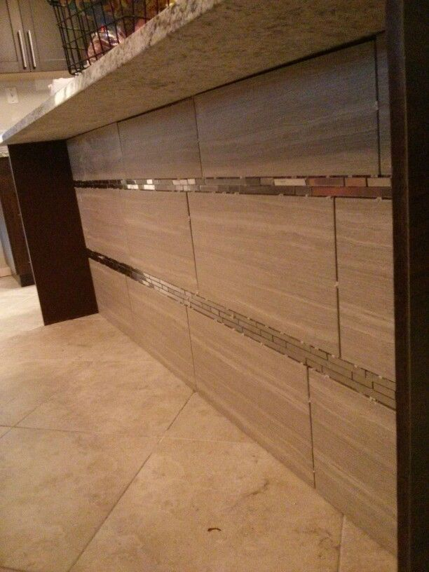 Amazing Underneath Kitchen Island Sink Area   This Is The Backsplash Tiles I Used.  From The