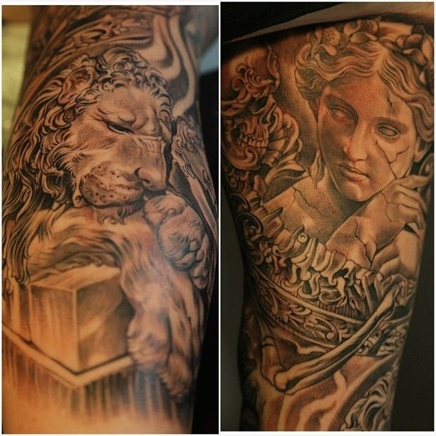 17 Best Images About Tattoos On Pinterest Lion Tattoo A And