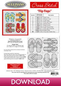 Free Download - Summer Collections Flip Flops - Sullivans Project Central