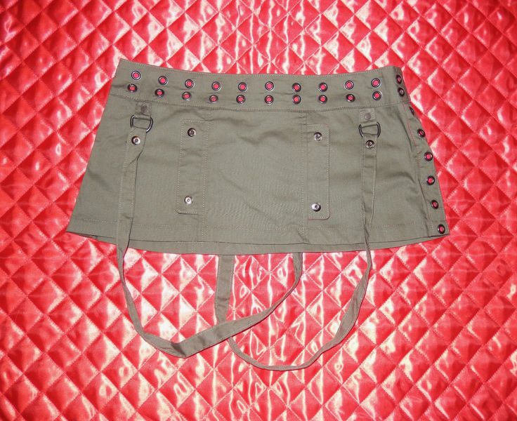 "LIP SERVICE Suspect Device ""Malicious"" mini skirt #49-213"