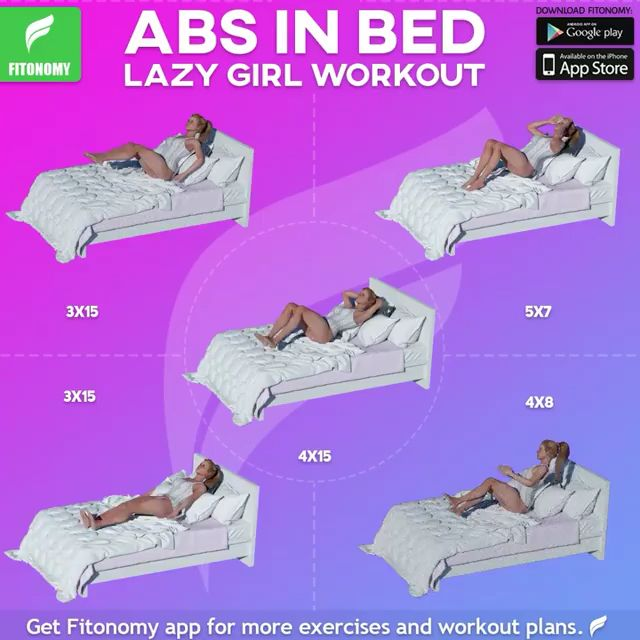 ABS IN BED!