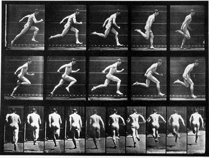 Eadweard Muybridge-Running Full Speed, Locomotion (1887)