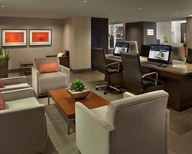 Hilton Toronto Airport Hotel & Suites, Mississauga, ON, Canada - Business Center   Ontario L4V 1N1