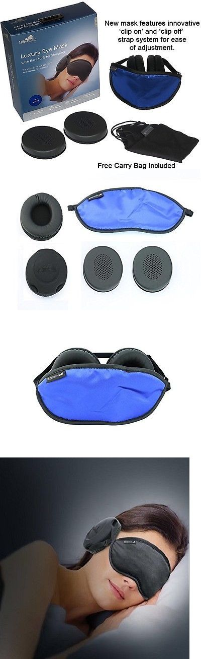 Sleep Masks: Hibermate Sleep Sleeping Masks Mask With Ear Muffs For Sleeping. Soft Luxurious -> BUY IT NOW ONLY: $79.99 on eBay!