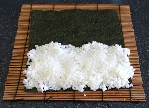 How to cook Sushi Rice for Sushi Rolls. Free Printable Recipe.