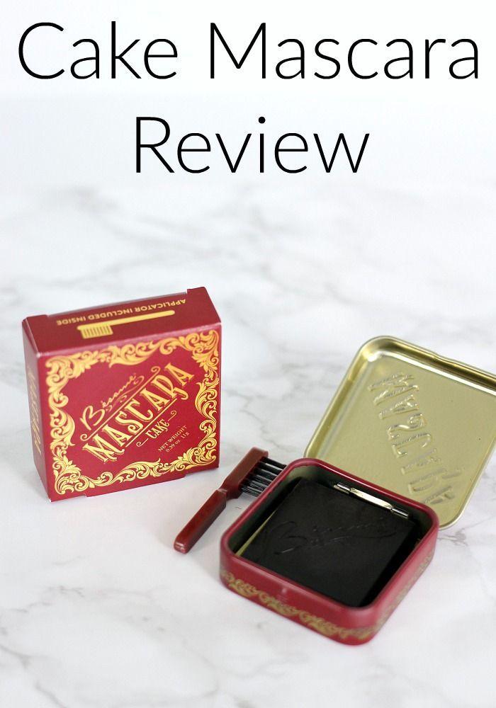 Bésame Cosmetics Cake Mascara Review