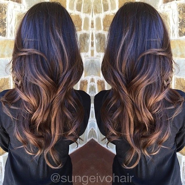 Heavenly Brunette Balayage Highlights!✨