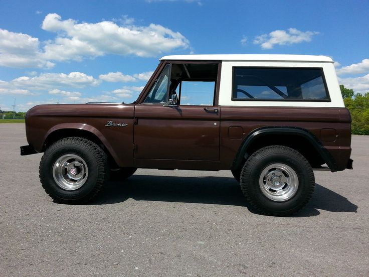 Pin by Scott Palmer on Bronco 4 Ford bronco, Classic