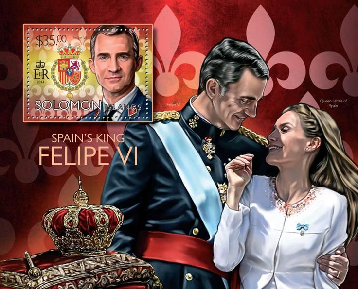 Post stamp Solomon Islands SLM 14509 b	King of Spain Felipe VI (Felipe VI)