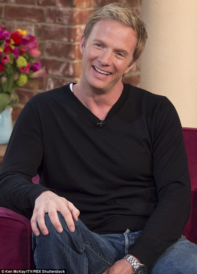 Doing well: Rupert Penry-Jones, pictured on This Morning in 2014, has a starring role in B...