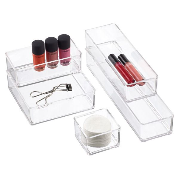 Acrylic Stacking Drawer Organizers