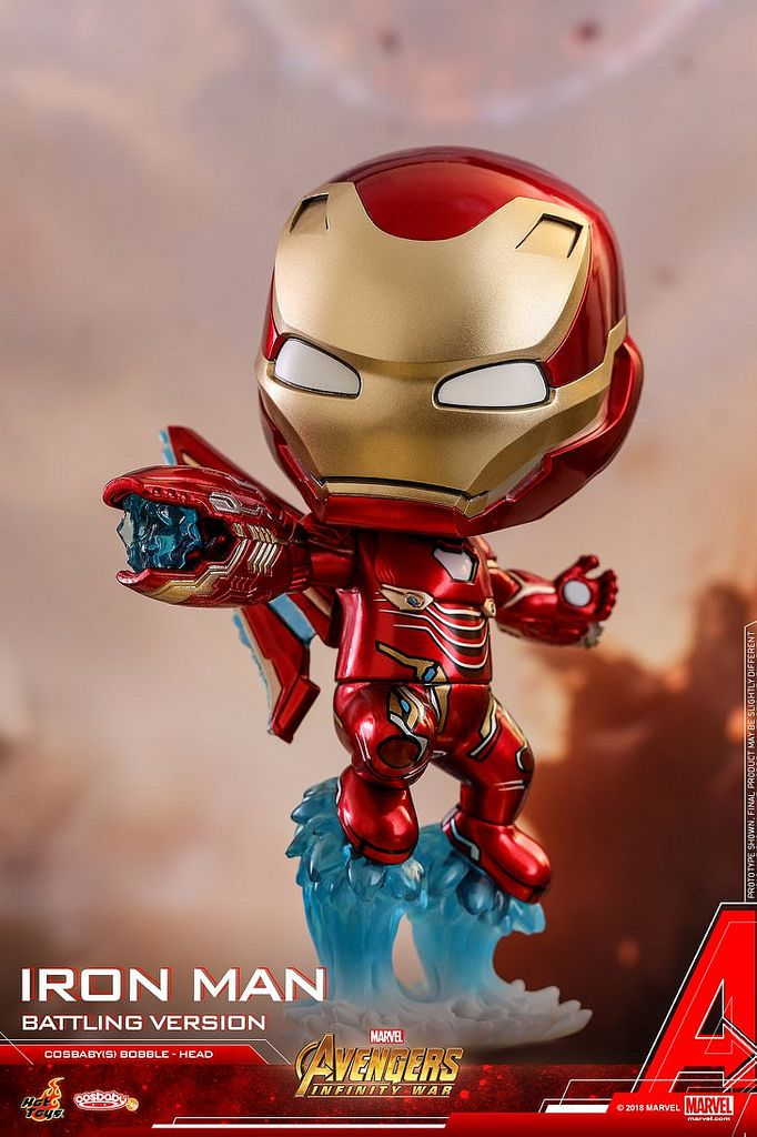 Iron Man MARK50 Mark L Figure Hot Toys Cosbaby Bobble-Head Avengers:Endgame Doll