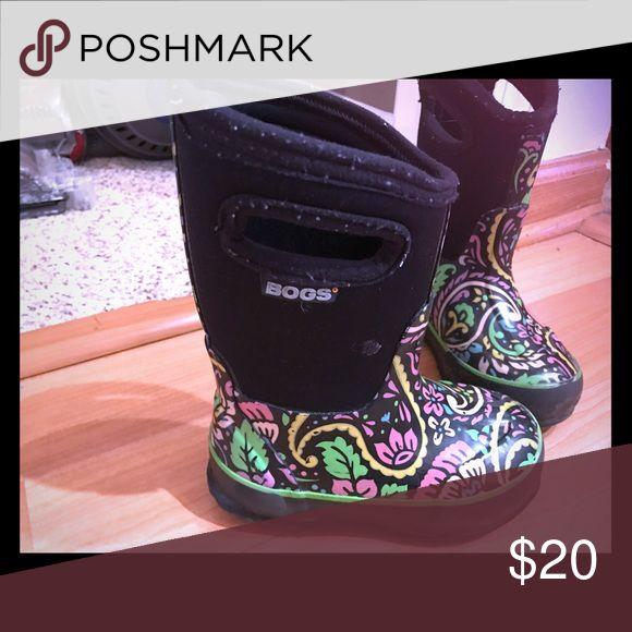 Girls Size 8 Bogs Girls Size 8 Bogs. Winter Boots. Bogs Shoes Rain & Snow Boots