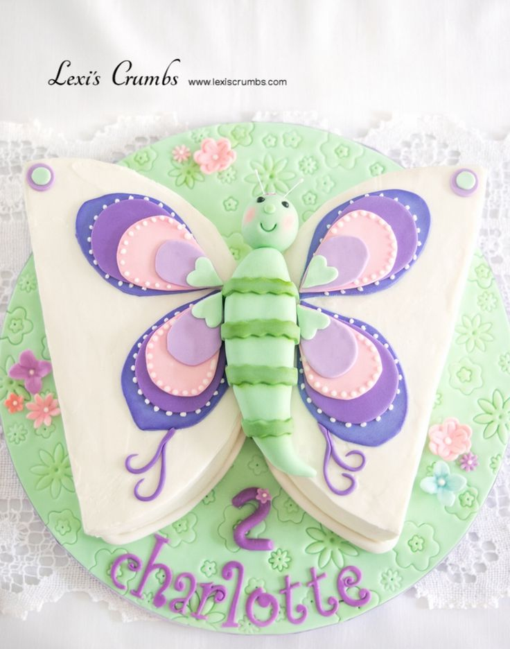 Butterfly cake  www.lexiscrumbs.com