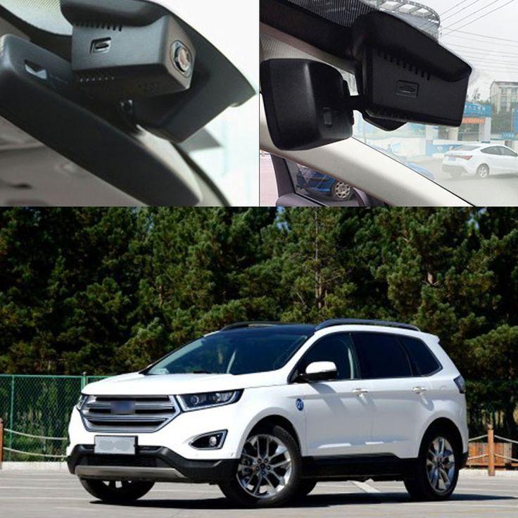 Для Ford Edge 2015 wi-fi Car DVR Вождение Автомобиля Рекордер скрытой установки передняя камера черный ящик Автомобиля Держать Автомобиль Оригинальную стиль