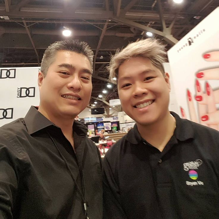 With Bryan Nguyen at 2017 International Beauty Show in Vegas. IMPULSE NAIL STUDIO by ANDY, San Diego, CA. Instagram@andyhaidinh. Online booking at StyleSeat.com/andyhaidinh  #thenailprince #andyhaidinh #nailartist #nails #acrylicnails #gelnails #nailart #nailsmagazine #VIETsalon #nailpromagazine #Aiibeauty #AiiEducator #EZFlow #IBD #ChinaGlaze #VietNAILunited #naildesigns #nailgasm #nailswag #nailpromote #instanails #nailsoftheday #ImpulseNailStudiobyAndy #SanDiegonailsalons #SDnails…
