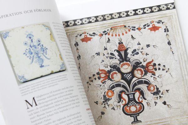 ダーラナ・ペインティング(クルビッツkurbits)の本 - uti Grona Lunden グルーナ ルンデン 北欧雑貨