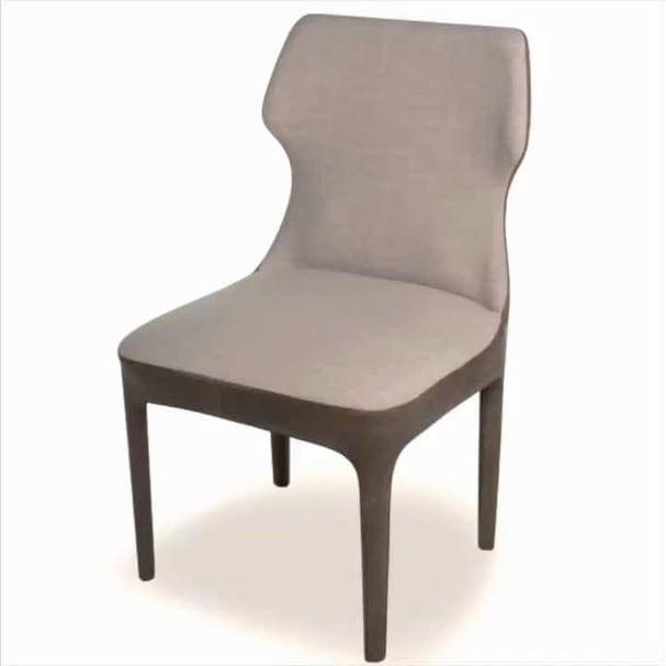 Cadeira Mona:  estofada da cabeça aos pés.  #germaniamoveis  #homedecor  #mobiliario  #designdeinteriores #design #arquiteturaedesign
