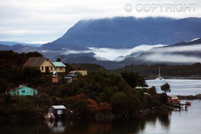 Puerto Eden Hamlet - Patagonia