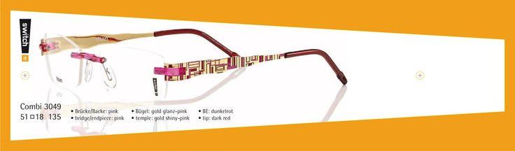 Outlet Switch it ! Combi 3049 Titan Bügel 135mm für Brille