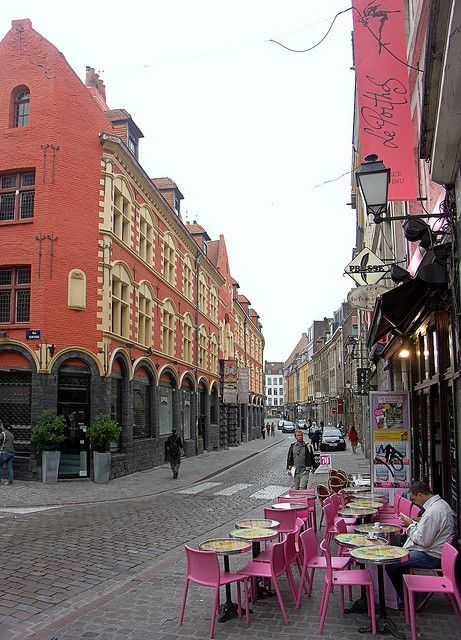 Lille -Rue De La Monnaie