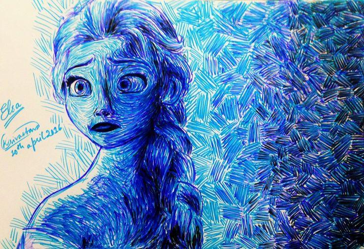 Elsa by kshitij1997 on DeviantArt
