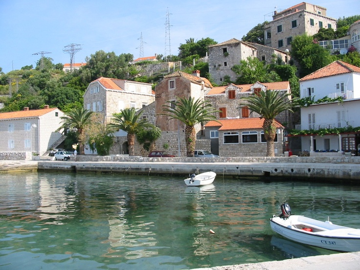 Mlini Harbour, Croatia
