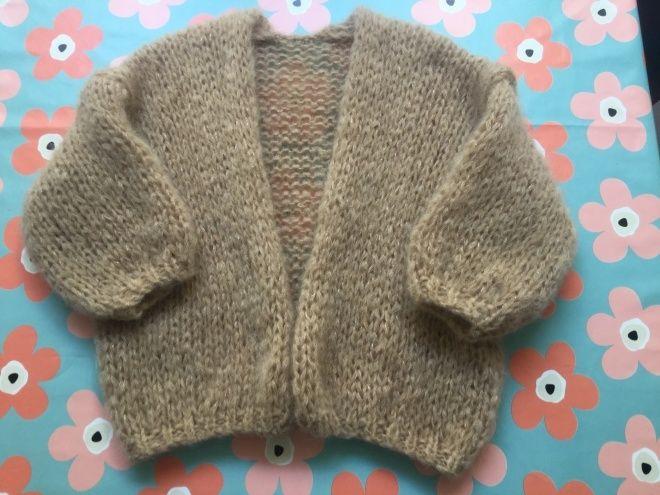 Gratis Patroon voor vest in Bernadette stijl (patroon 0401 ...