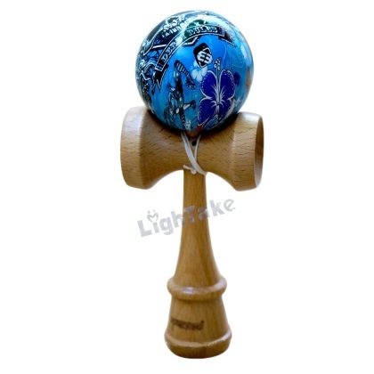 """When I saw this toy, I just had to have it. It is much different than regular yoyos. I had never tried to use one. This toy takes much coordination to use. I have tried it and have had very little luck. """"Kendama is an extremely addictive wooden skill toy that comes from Japan. It strengthens hand eye coordination, balance, and reflex. It can be played by young and old alike. There are endless trick possibilities for both the beginner and the seasoned master."""