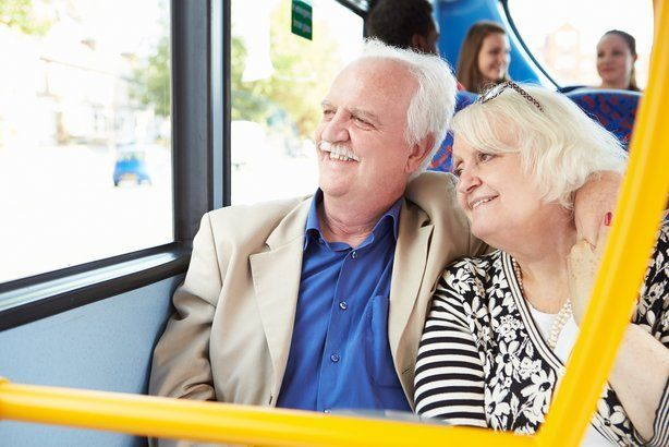 Greyhound has a 5 percent discount on all of its U.S. bus lines for anyone 62 or older.