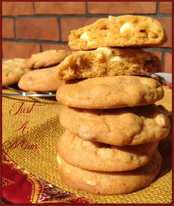 White Chocolate & Butterscotch Pudding Cookies