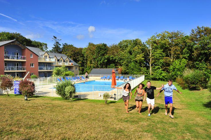 Détente en famille pour petits et grands dans notre résidence Bretonne !