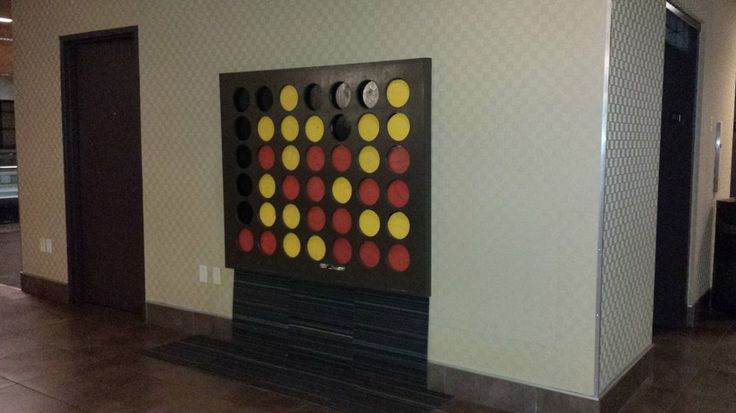 Giant Wall Mounted Connect Four Man Cave Pinterest