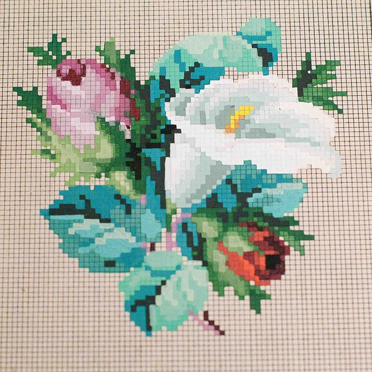 pictures of some really old needlepoint patterns