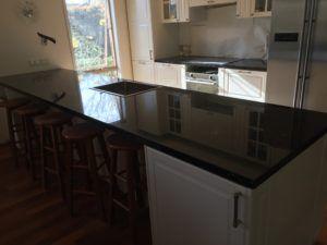 Emerald Pearl Granite Kitchen Install