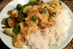 Een gerecht zonder pakjes of zakjes: Kip Tandoori zelf maken. Heel makkelijk en veel lekkerder!