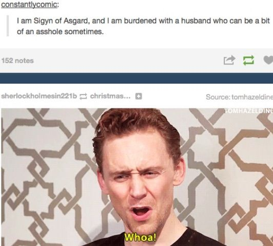 Loki and Sigyn, hahaha